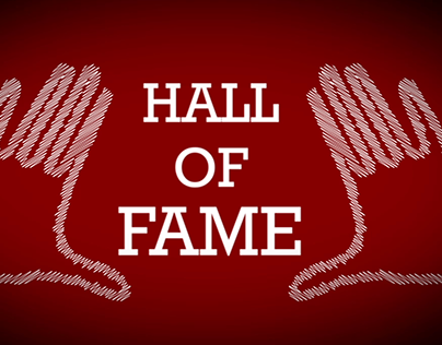 Typography for Hall of Fame - The Script