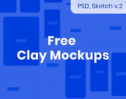 Device Mockups [Sketch, PSD]