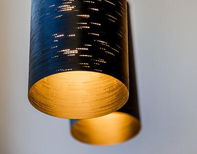 GLITCH lamp /// 3D printed decorative lamp shade