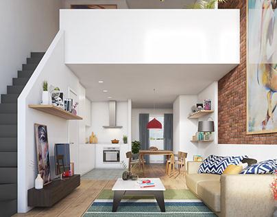 CG Render / Interior Design