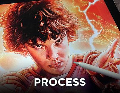 Poster Illustration (Process)