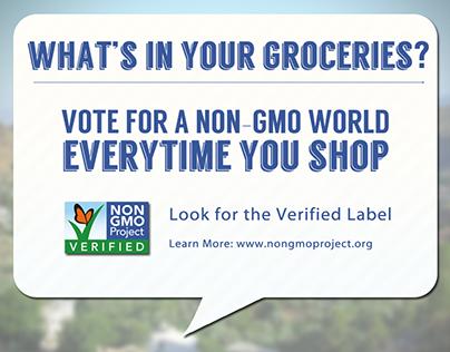 Non GMO Project Social Media Campaign