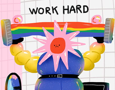 Work Hard Until..
