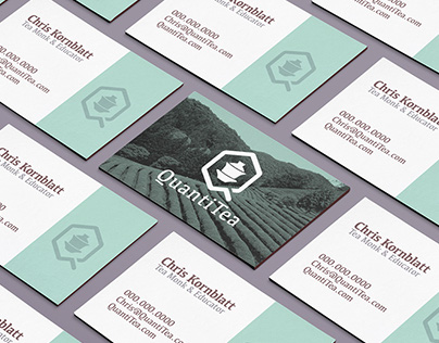 Quantitea - Brand Identity