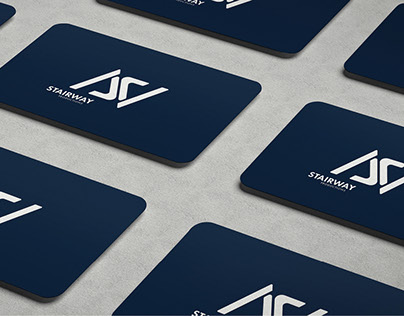 Logo and Brand Identity design: Stairway Productions