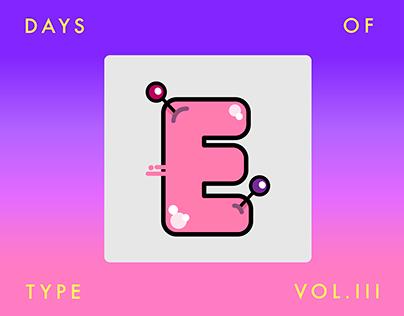 36 DAYS OF TYPE III