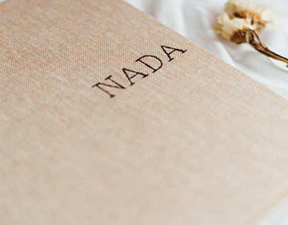 PACKAGING PROYECTO EDITORIAL - NADA
