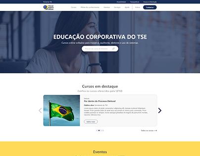 Site Educação Corporativa