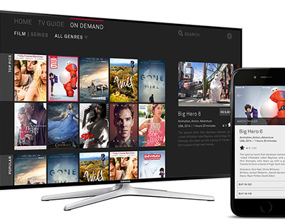 SMART TV - APP FOR CONNECTED TELEVISION