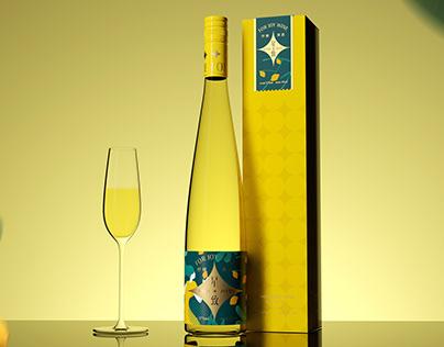 尚果酒业-星致果酒系列包装设计 Fruit wine packaging design