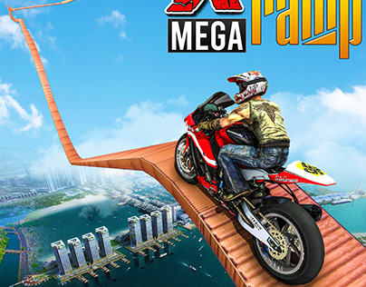 Mega Ramp Bike Stunt Icon