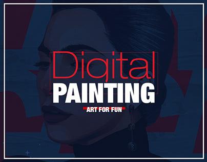 """Digital Painting """" Art for fun """""""