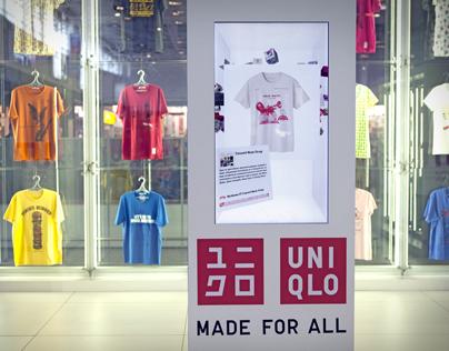 UNIQLO Interactive Booth