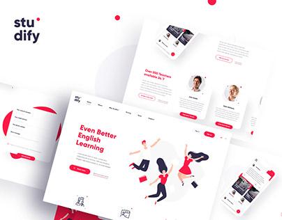 Studify - a platform for learning English