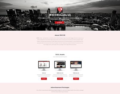 Singapore Landing Page Designs