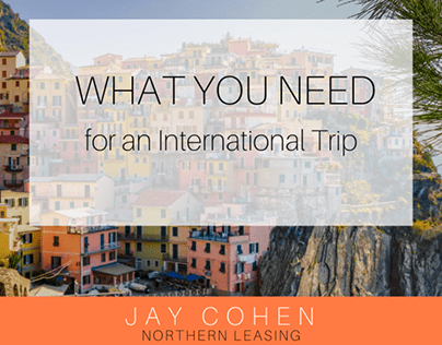 What You Need for an International Trip