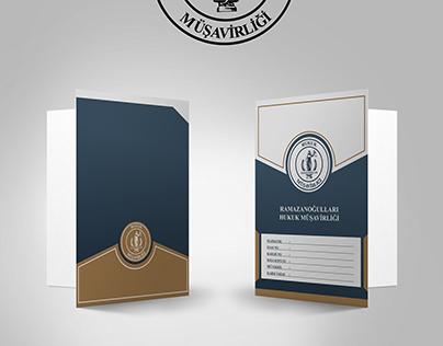 Ramazanoğulları Hukuk Bürosu Dosya Tasarımı