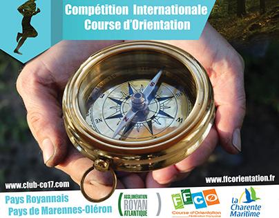 Affiche - Compétition Course d'Orientation