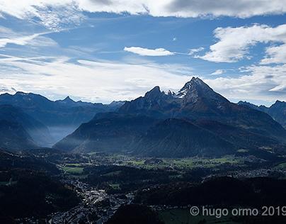Berchtesgaden and the Watzmann