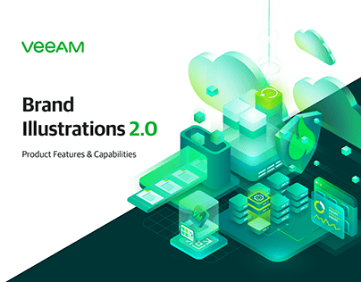 Veeam Brand Illustration