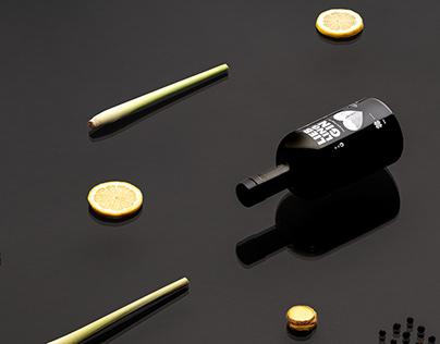 Brandingdesign for a GIN-Label