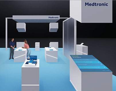 Medtronic Trade Show Booth