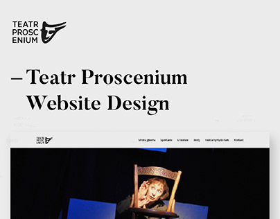 Theater Proscenium Web Design