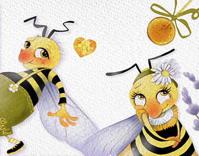 STICKERPACK Bee Honey