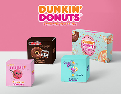 Dunkin' Donuts Packaging Design | Unofficial (2019)