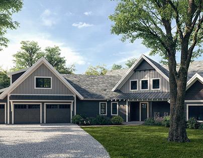 Plombon House Rendering