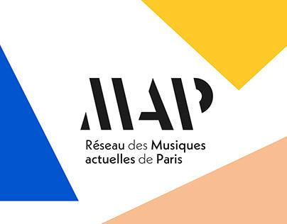Réseau MAP - Logo design and branding