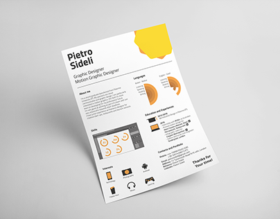 CV, Cover Letter and Business Card