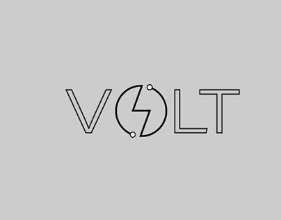 Volt Minimal Modern Logo Design
