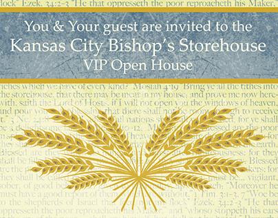 Bishops' Store House Invitation