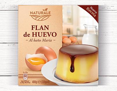 Flan de Huevo - Naturale