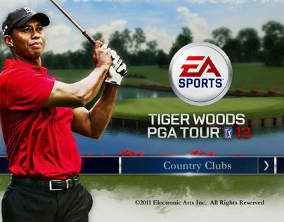 EA SPORTS TIGER WOODS Country Clubs –Game Extension
