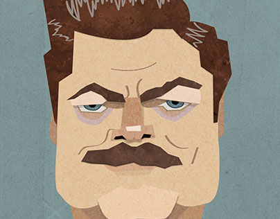 Parks and Recreation Motivational Illustrations