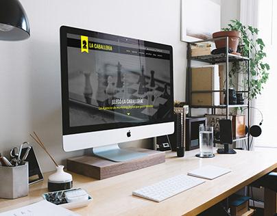 Página Web de La Caballería Agencia de Marketing Digita