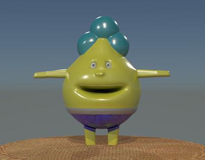3D Modeling (Character Design)