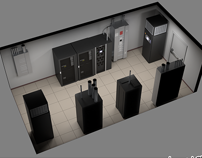 Server Room (client work)