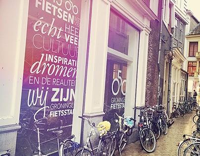 Campaign Groningen Fietsstad (Initio)