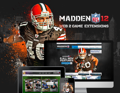 EA SPORTS MADDEN 12 –Mobile & Web Applications