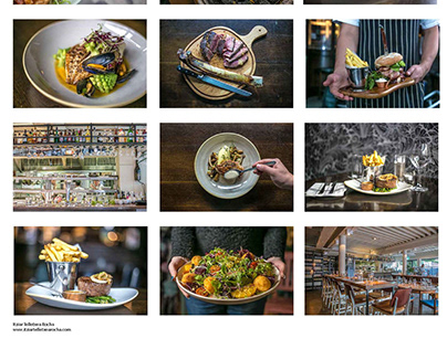Food Photography and styling examples