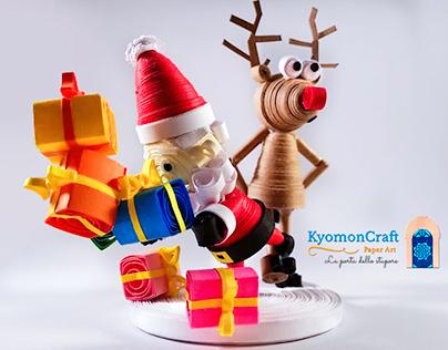 Rudolph does stumble a busy Santa Claus
