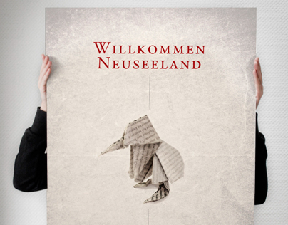 Posterseries: Welcome New Zealand!