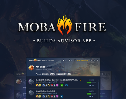 MobaFire app for League of Legends