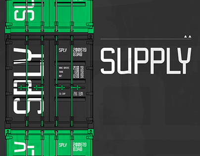 Supply Typeface