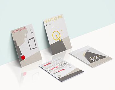 "Cards ""CON OCCHI DI BAMBINA - Fairytales REWision"""