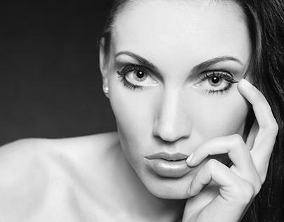Portrait for a beauty salon...