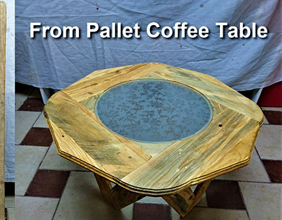 New Model Coffee Table Making from Pallet Boards - Wise